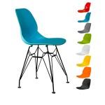 صندلی کندو کد K530s با پایه ایفلی استاتیک