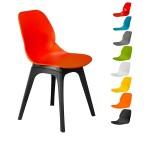 صندلی کندو کد K520 چهارپایه پلاستیکی|