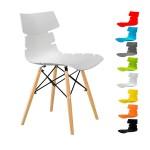صندلی مرجان کدM500 پایه چوبی ثابت|||